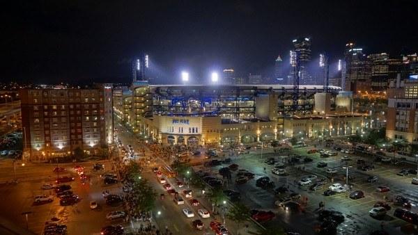 Pirates Stadium in Pittsburgh