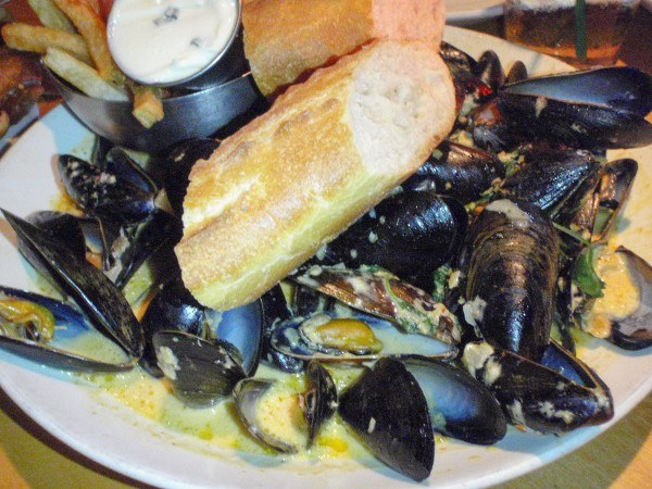 Mussels at Point Brugge Cafe in Pittsburgh