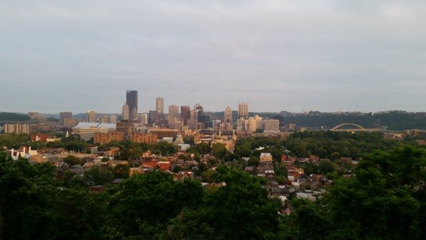 View from Discover the Burgh