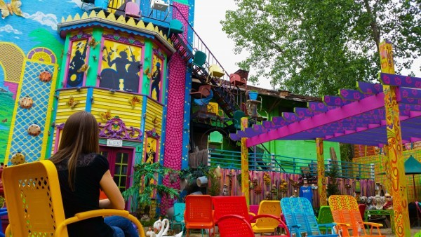 Incredible Colors at Randyland