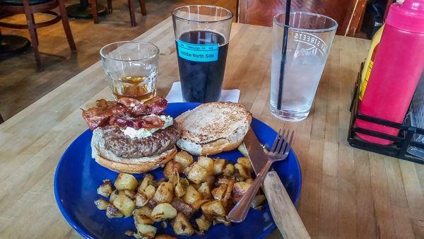 Burgers at Bier's Pub
