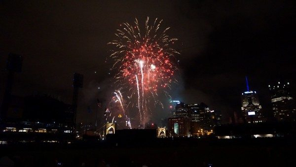 Fireworks at the Pittsburgh Pirates Game at PNC Park