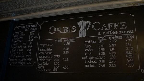 Orbis Caffe in Mount Lebanon