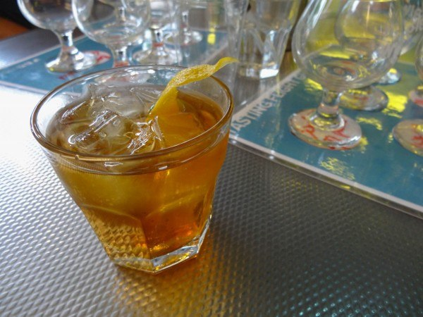 Old Fashioned at Wigle Whiskey in Pittsburgh
