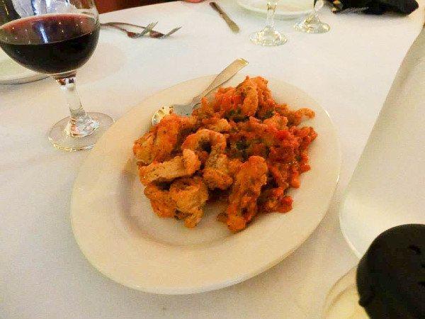 The Best Calamari in Pittsburgh at La Tavola