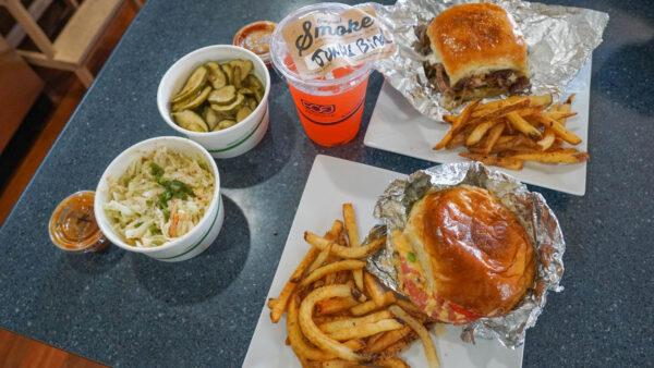 Takeaway Order from Smoke Sandwich Shop
