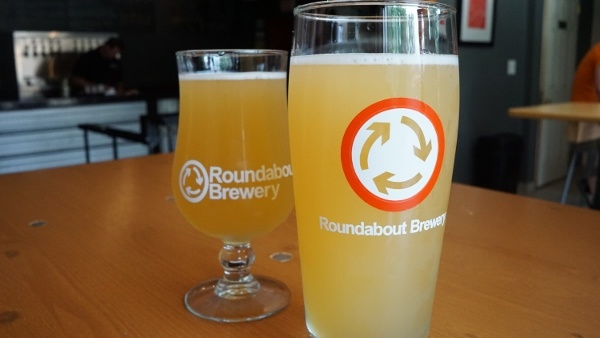 Wheat Beers at Roundabout Brewery in Lawrenceville