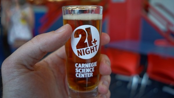 21+ Night at the Science Center