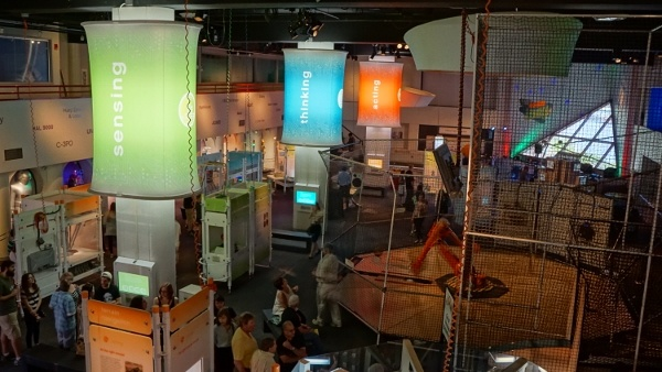 Robots Wing of the Pittsburgh Science Center