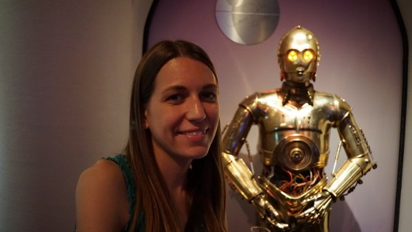 Meeting C3PO at the Science Center