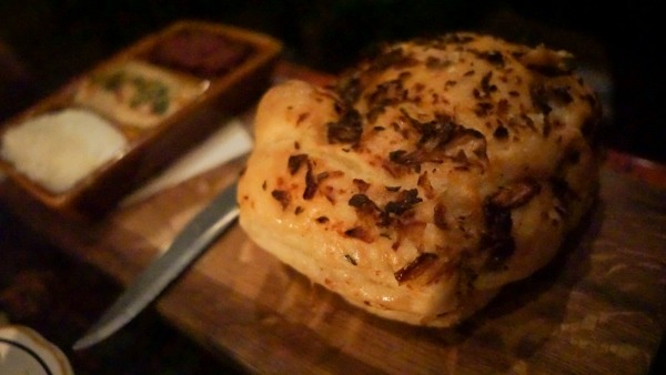 Focaccia at Butcher and the Rye in Pittsburgh