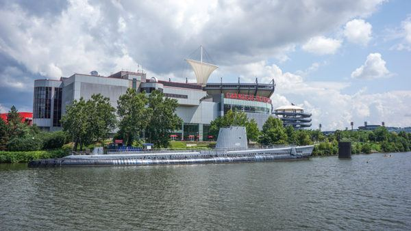 USS Requin at the Science Center Pittsburgh