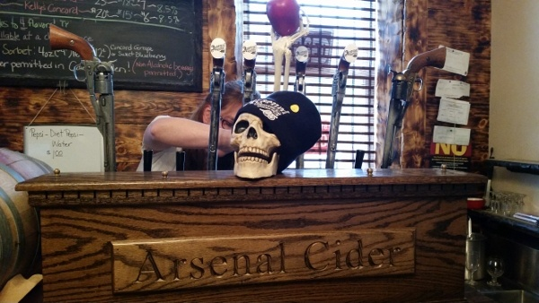 Arsenal Cider House in Lawrenceville