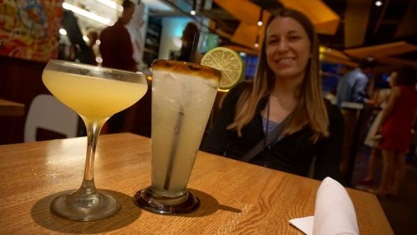 Drinks at Verde in Pittsburgh