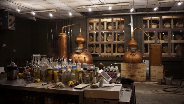 Maggie's Farm Rum in the Strip District