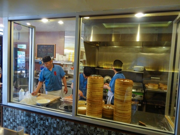 Preparing Noodles at Everyday Noodles
