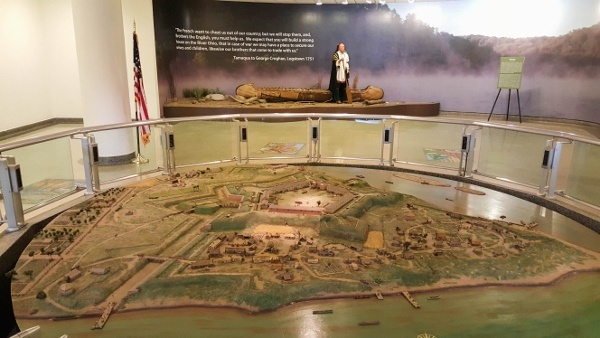 Inside the Fort Pitt Museum