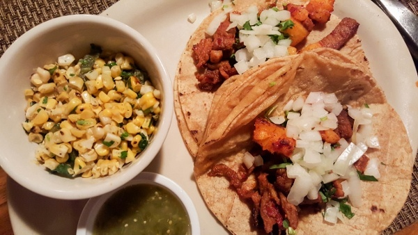 Tacos al Pastor at Reyna's