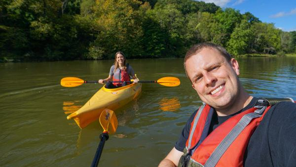 Kayaking at North Park