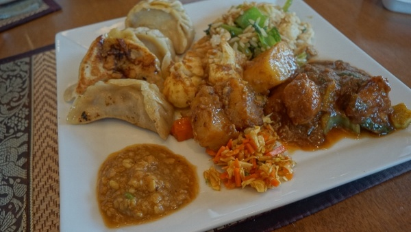 Nepali Food from Subba Asian in the North Side