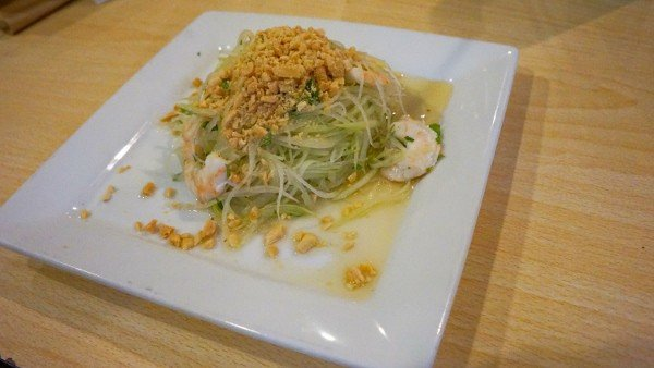 Green Papaya Salad at Pho Van