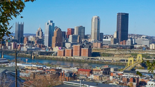 Pittsburgh from the South Side Slopes