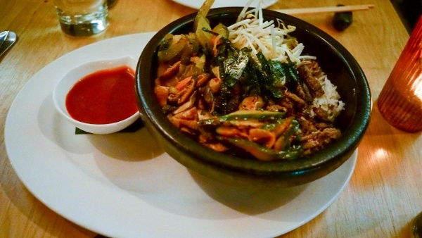 Bi Bim Bap at Soba in Pittsburgh