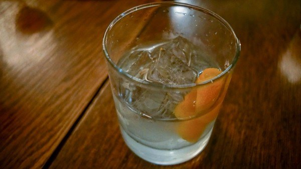 Mezcal Old Fashioned at Bar Marco