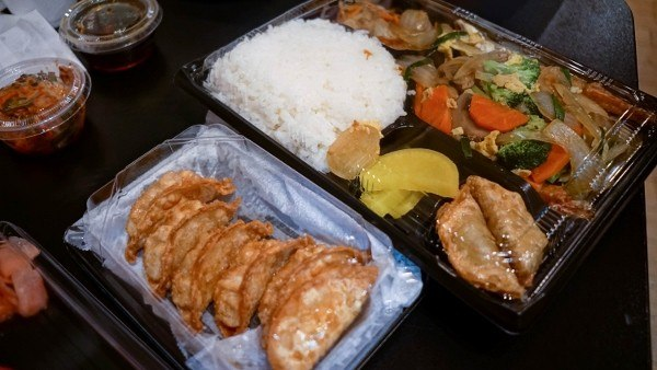 Bento Boxes from Oishii Bento in Oakland