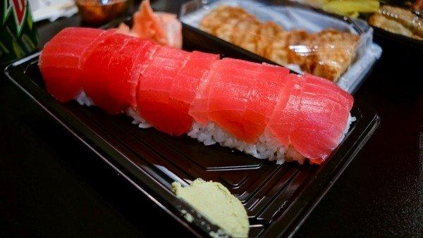 Sushi at Oishii Bento