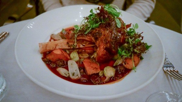 Lamb Shank at Casbah in Pittsburgh