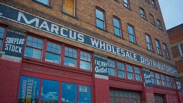 Old Wholesale Signs in the Strip District