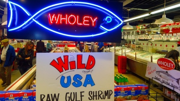 Wholey's Seafood in Pittsburgh