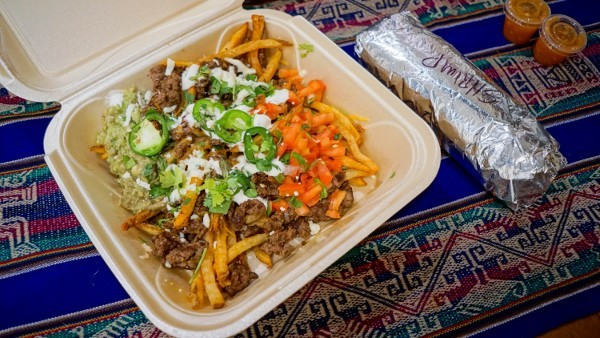 Loaded Fries at El Burro in the North Side