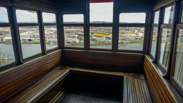 Inside the Duquesne Incline