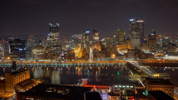 Pittsburgh from Grandview Avenue near the Monongahela Incline