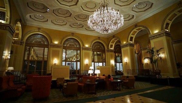 Inside the Omni William Penn Hotel