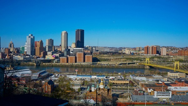 Pittsburgh from Allentown