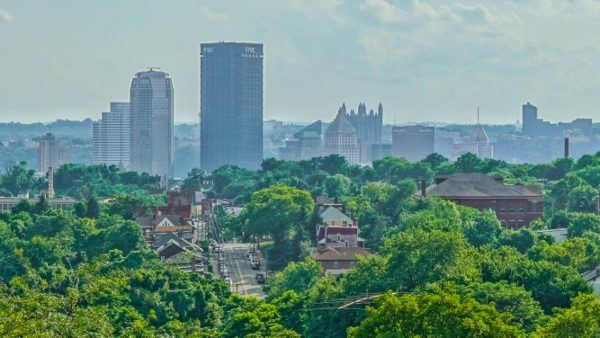 Pittsburgh from the Robert E Williams Memorial Park