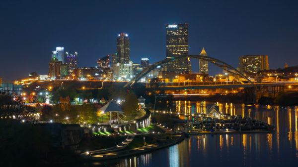 Pittsburgh from the Hot Metal Bridge