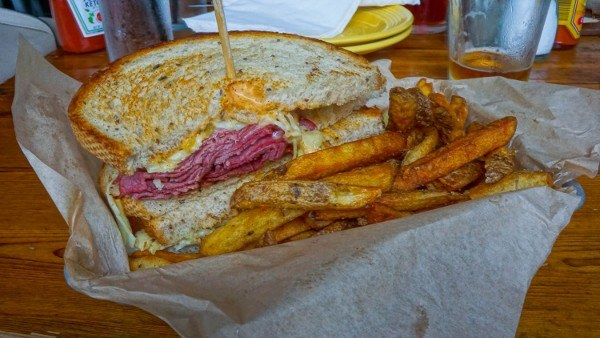 Reuben at Industry Public House in Lawrenceville
