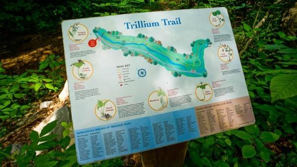Trillium Trail Map