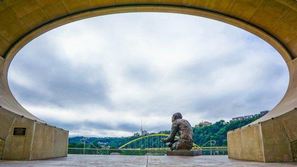 Mr. Rogers Memorial in Pittsburgh
