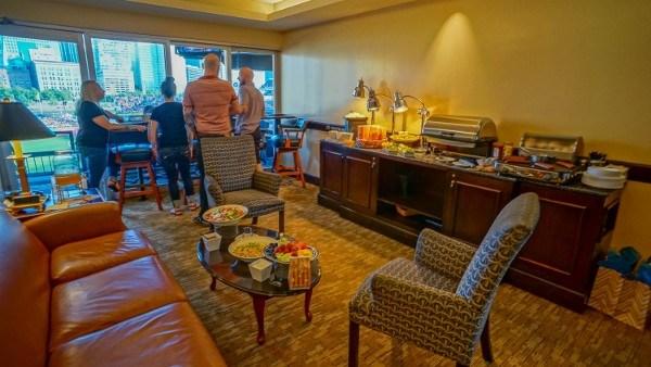 Inside a VIP Suite at PNC Park