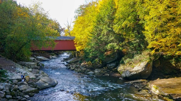 Covered Bridge at McConnells Mill Park
