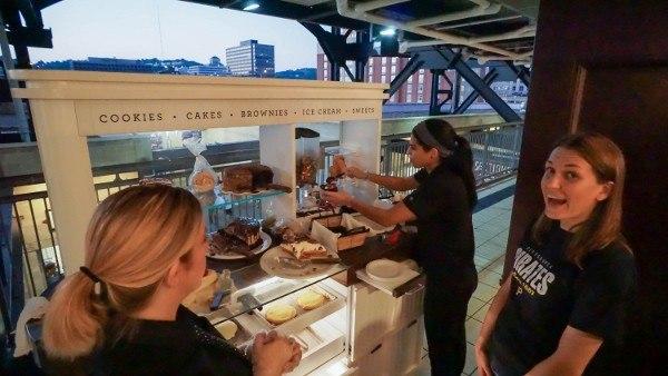 PNC Park's Dessert Cart