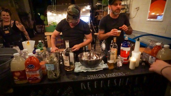 Pop-Up Bars at the Garfield Gallery Crawl