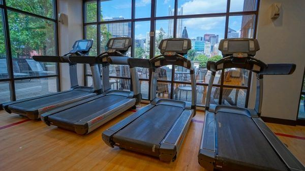 Fitness Center at Sheraton Station Square
