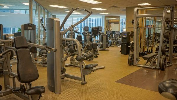 Fitness Center at the Westin Convention Center in Pittsburgh