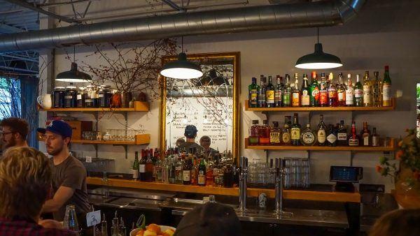 The bar at Apteka